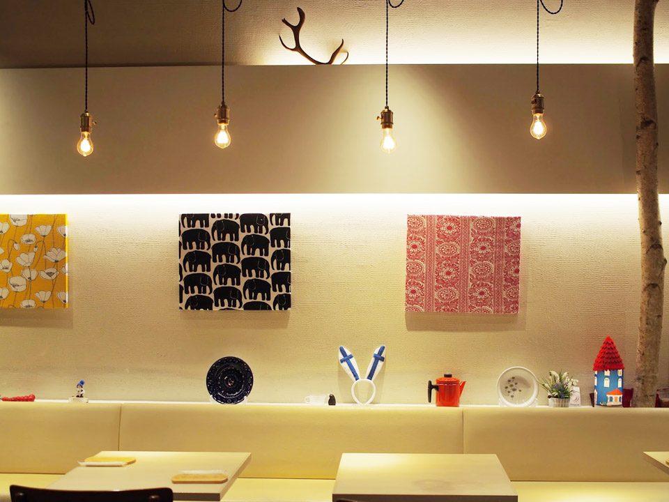 フィンランドキッチンTaloのディクラッセ照明
